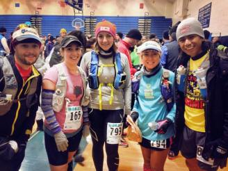 With my Trail WhippAss team mates and friends. L-R: Matt Gerowitz, Juliette Ciacca, Stalina Gibson, Moi, and JC Sta. Teresa.